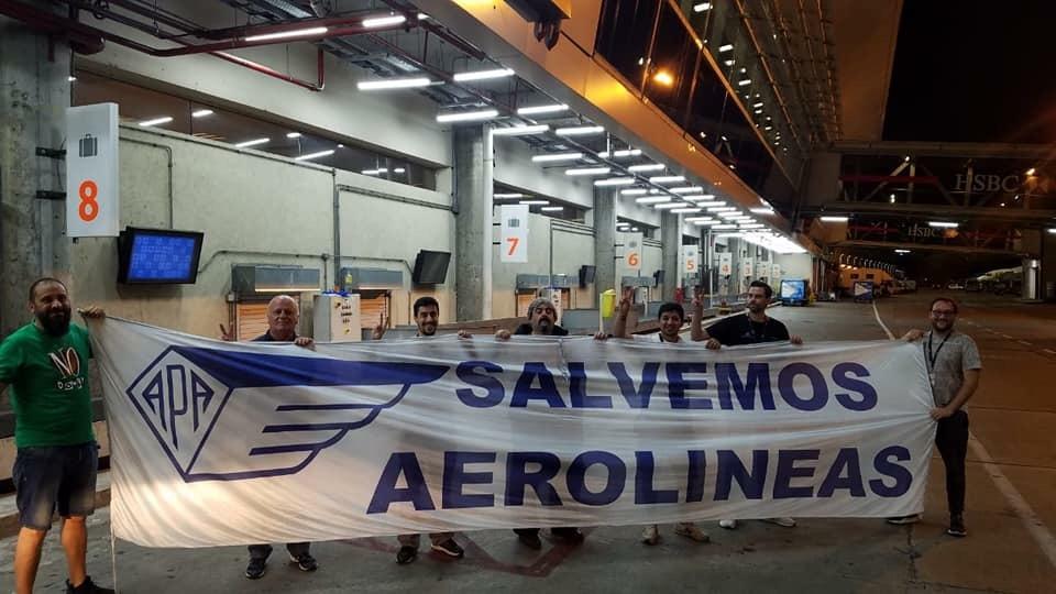 La ITF respalda las acciones de los/as aeronáuticos/as en Argentina (ITF)
