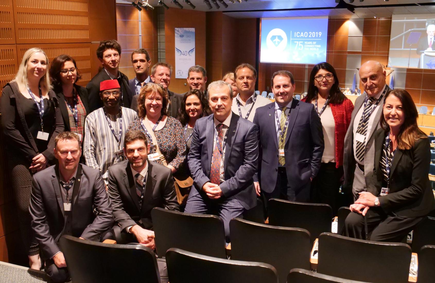 La ITF en el centro de la cumbre mundial de aviación