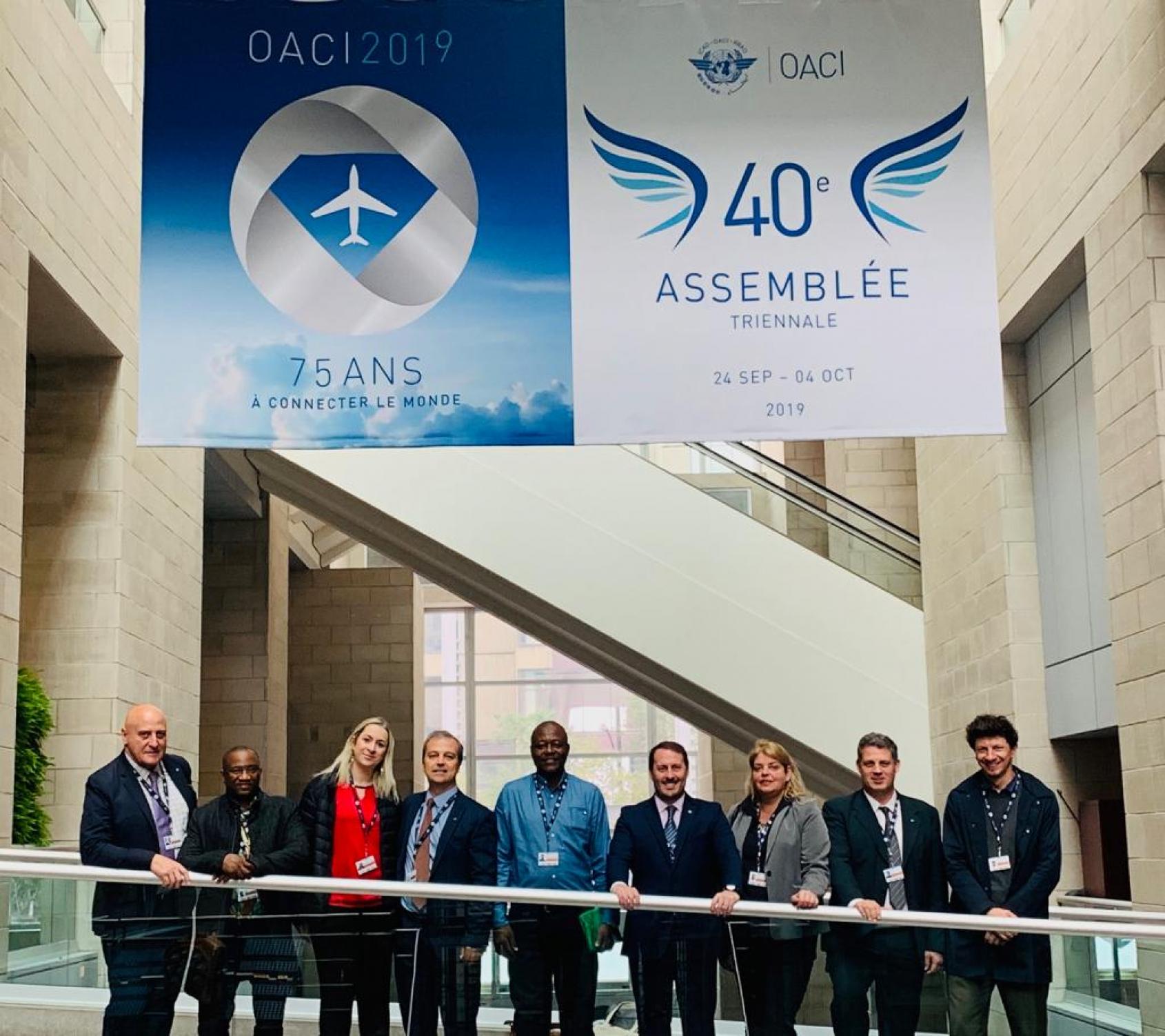 Éxito de la ITF en la cumbre de la OACI